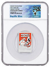 2017 Niue Disney Posters 1930s Mickey's Revue 1 oz Silver NGC PF69 UC SKU48506