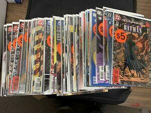 50 Different BATMAN COMICS, Comic Book Lot (CC2) DC Comics