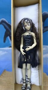 """Dollmore 20"""" goth doll with extra set of clothes, certificate authenticity, box"""