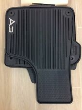 AUDI A3 RUBBER ALL WEATHER FLOOR MAT SET OF 4 2005-2013 OEM 8P1061450041New