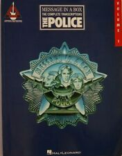 THE POLICE GUITAR TAB / TABLATURE / MESSAGE IN A BOX / VOLUME 1 ONLY / SONGBOOK