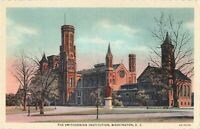 Postcard Smithsonian Institution Washington DC