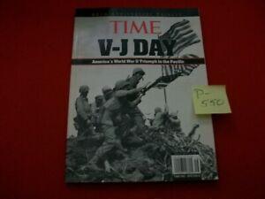 COLLECTIBLE WWII TIME V-J DAY 60TH ANNIVERSARY TRIBUTE-AMERICA'S TRIUMPH PACIFIC