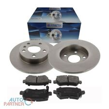 Bremsscheiben Bremsbeläge Bremse hinten Ø 264mm für Opel Astra G H Zafira 5 Loch