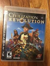 Sid Meier's Civilization Revolution (Sony PlayStation 3, 2008) Complete