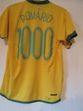 Brasilien 2006-2008 Zuhause Romario 1000 Football Shirt Größe Adult Large/43369