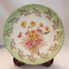 Beautiful, Unique, Antique German Mitterteich Bavaria dessert / side plate