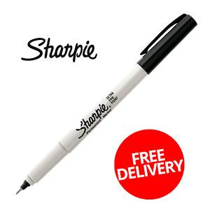 Black Sharpie Ultra Fine Sharpie Permanent Marker Fast And Free Postage