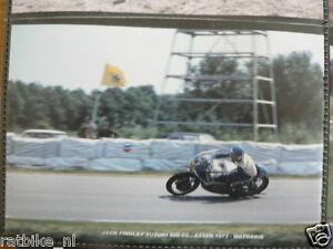 S0228-PHOTO- JACK FINDLAY SUZUKI 500 CC ASSEN 1973 NO 26 MOTO GP