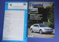 Revue technique l'expert automobile 456 Renault laguna II phase 2 03/2005>