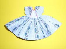 """Vintage 1950s 10 1/2"""" Little Miss Revlon Untagged  #9132 - Floral Cameo Dress"""