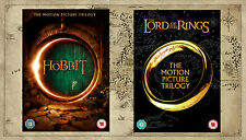 The Lord Of The Rings & The Hobbit Trilogy The Complete J.R.R.Tolkien DVD Pack