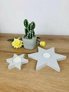 Star Tea Light Holder - GREY