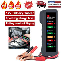 Automotive 12V Battery Load Tester Alternator Analyzer Car Diagnostic Test Tool