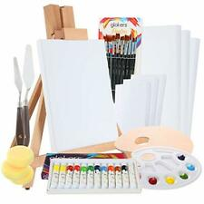 New ListingGlokers Complete 36 Piece Professional Acrylic Painting Supplies Set