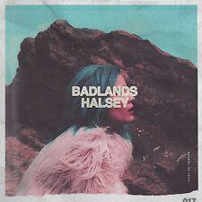 Badlands [LP] - Halsey (Pink Vinyl w/FREE DELUXE Download, 2015, Astralwerks)