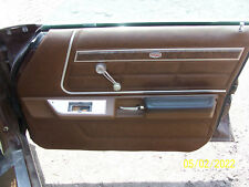 1977 MERCURY MARQUIS 4 door RIGHT FRONT DOOR TRIM PANEL OEM USED