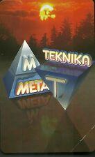 SCHEDA ITALIA NUOVA 5000 PRIVATE RESE PUBBLICHE TEKNICA META  GOLDEN n. 346