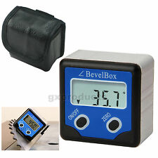 ±180° Accuracy Digital Bevel Box / Inclinometer With 3 Disk Strong Magnets
