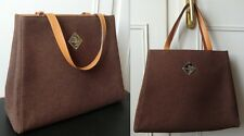 MAISON MOLLERUS large brown Handbag/Handtasche
