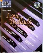 Klavier Noten : Love Ballads mit CD mittelschwer (Gerlitz Piano Lounge)
