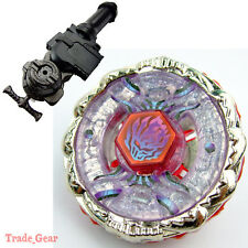 Metal Fusion BEYBLADE Fight BB123 FUSION HADES+LR Launcher+GRIP