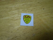 Prewar EA Laboratories Bicycle Light Decal Water Transfer Fits Schwinn Shelby &