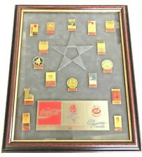 Limited Edition 1992 COCA COLA Olympic Pins IGA 65th Anniv. CONVENTION rare set
