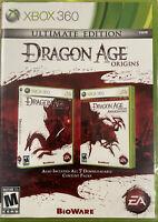 Dragon Age Origins Ultimate Edition - XBOX 360 - Microsoft XBO 360 - NEW Sealed