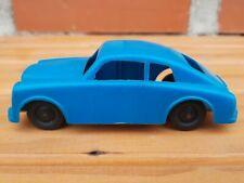 RARE VINTAGE PLASTIC TOY MEHANOTEHNIKA IZOLA BLUE CAR VEHICLE MADE IN YUGOSLAVIA