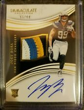 JOEY BOSA AUTO 55/99 2016 IMMACULATE RPA RC 4-COLOR 4 BREAKS PATCH ROOKIE L@@K