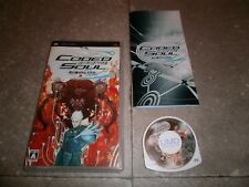 Game Psp Jap : Coded Soul Uketsugareshi Idea - Complete Tbe