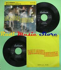 LP 45 7'' EDOARDO LUCCHINA Malombra Mazurca variata 1963 italy DURIUM no cd mc