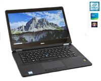 Dell Latitude E7470 i5-6300 8GB 256GB SSD NVME IPS WQHD 2560x1440 Touch X7 LTE