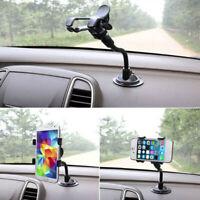 Black Universal Dashboard Stand Holder Car Mount 360° GPS Mobile Phone Holder XZ