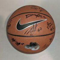GONZAGA BULLDOGS 2020-21 TEAM signed autographed BASKETBALL w/COA! JALEN SUGGS