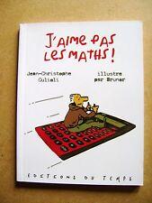 Livre pour apprécier les maths 6 à 11 ans j'aime pas les maths  /Z39