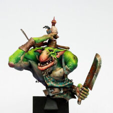 1/10 Scale Unpainted Long Ears Orcish Statue Resin Garage Kit Figure Bust Kit