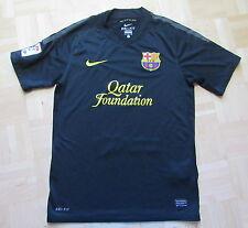 Barca 2011-2012 Nike FC Barcelona away Shirt jersey Blaugrana black adult size S