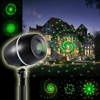 Christmas Laser Fairy Light Projection Outdoor Star Laser Projector Light Decor