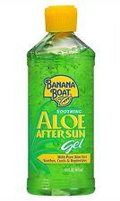 Banana Boat Aloe Vera Sun Burn Relief Sun Care After Sun Gel - 16 Ounce