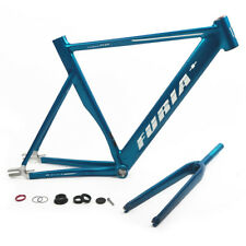 700C Fixed Gear Bike Frame Aluminum Alloy w/ Front Fork Seat Post 490mm US Stock