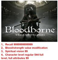 Bloodborne Savedata mod!Mod everything you need! PS4&PS5!!!
