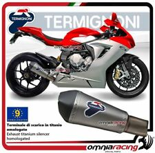 Termignoni CONICAL Exhaust approved MV Agusta F3 675/800 12>16