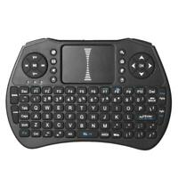MG-A08 2.4GHz wireless mini QWERTY keyboard and TouchPad combo English Black