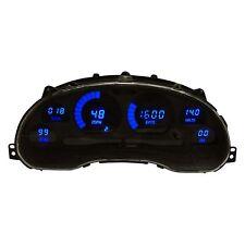 Ford Mustang 94-04 Intellitronix DP7009B Blue Direct Fit LED Digital Gauge Panel