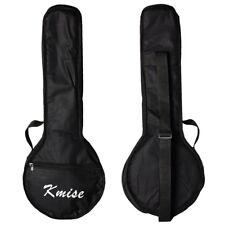 Kmise Banjo Ukulele Uke Banjolele Bag Concert 23 Inch Size Carry Soft Case Black