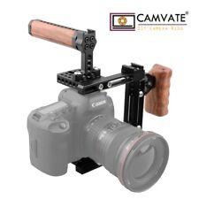 CAMVATE DSLR Kamera Käfig Cage Griff Canon 80D 60D 5D MarkIII Sony a7ii GH5/GH4