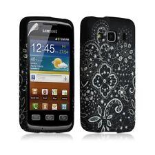 Housse coque étui gel pour Samsung Galaxy XCOVER S5690 motif LM11 + Film protect