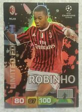 Champions League 11-12 Adrenalyn XL Panini. Robinho limited edition card